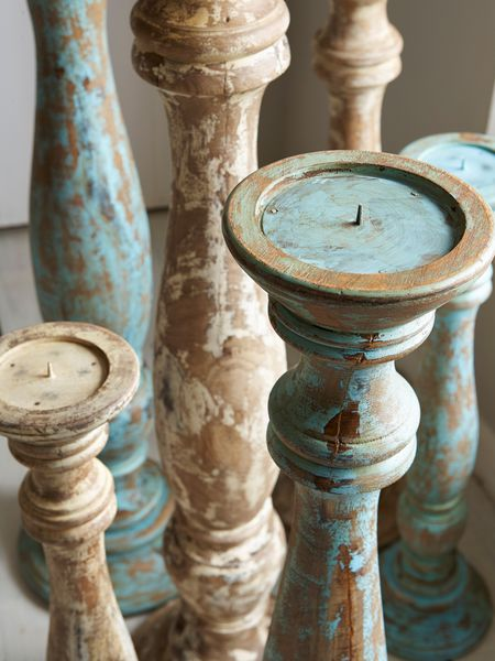 Large Floor Candle Holders Azure Nordic House
