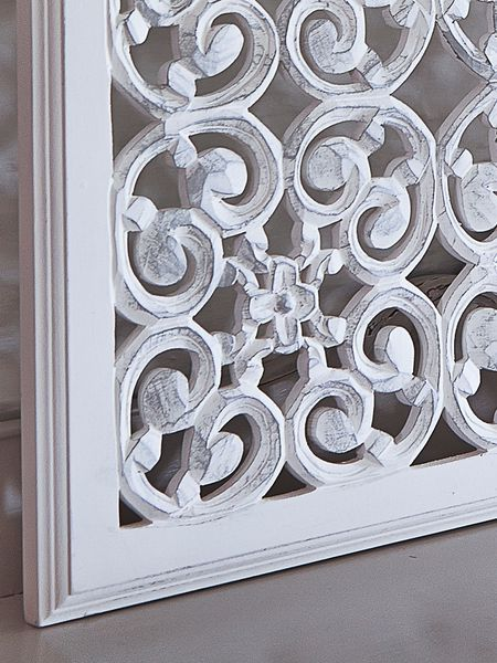 Square carved wall panel design wm nordic house