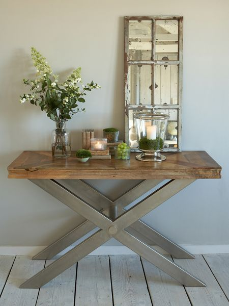 Criss Cross Console Table