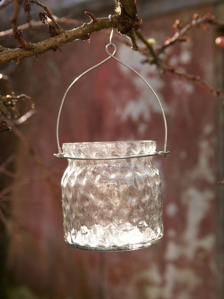 Hanging Tealight Jar