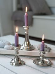 Mini Metal Candlesticks
