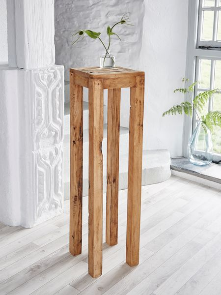 Reclaimed Wood Pedestal