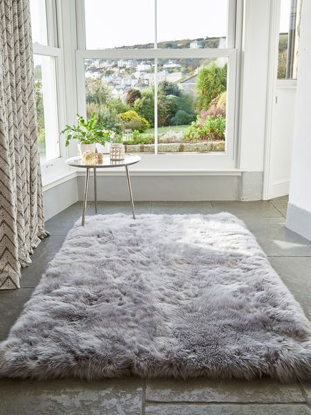 Sheepskin Rugs Cushions Poufs