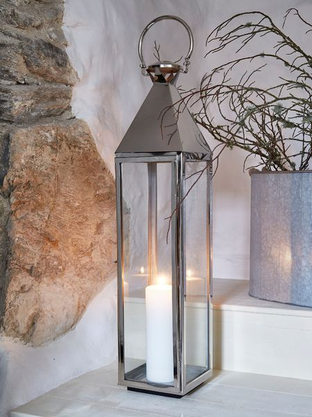 Big Stainless Steel Lantern XL
