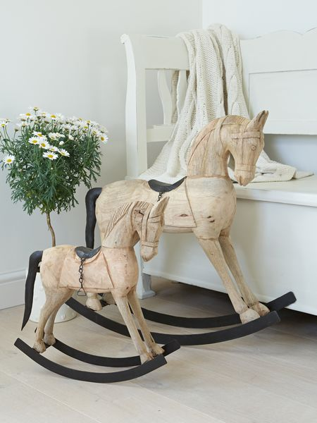 Decorative Wooden Rocking Horse