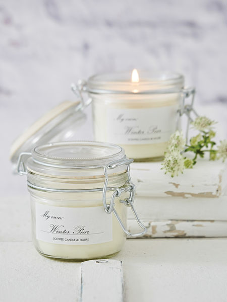 Scented Candle Jar - Winter Pear