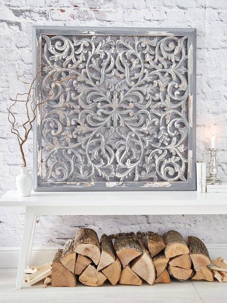 Large Carved Wall Panel - Design 1 GL
