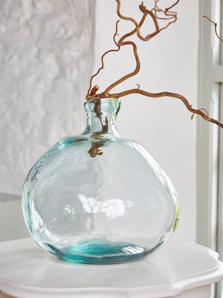 Recycled Glass Bottle - Round