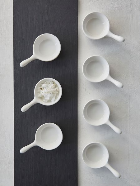 Swedish Mini White Bowls