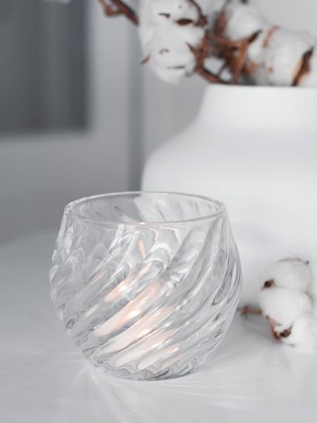 Elegant Glass Tealight Holder
