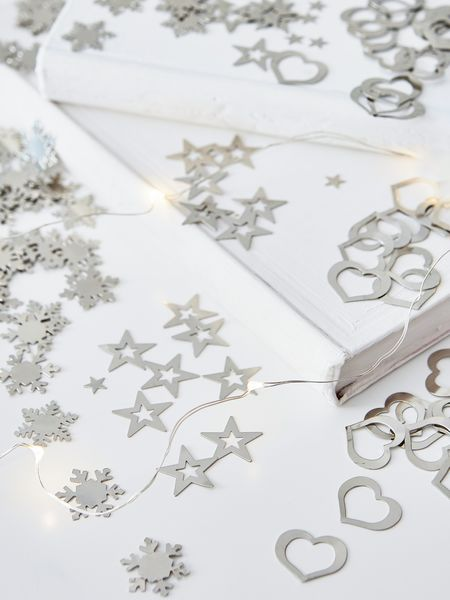 Scatter Stars, Hearts and Snowflakes