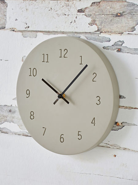 Urban Concrete Clock
