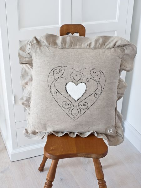 Natural Vintage Style Cushion