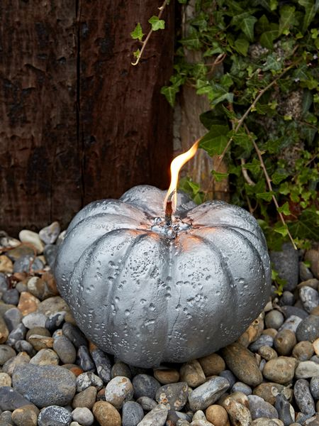 Large  Outdoor Pumpkin Candle