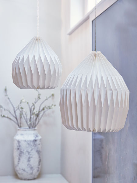 White Paper Lampshades