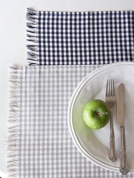Gingham Placemats