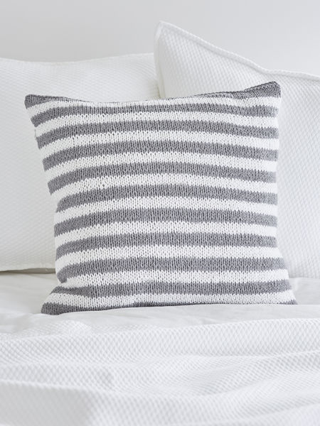 Knitted Grey Cushions