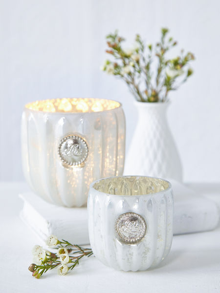 Antique White Tealights