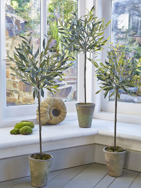 Medium Faux Olive Tree