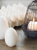 Egg Candles with yolk