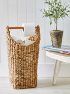 Hand Woven Toilet Roll Holder