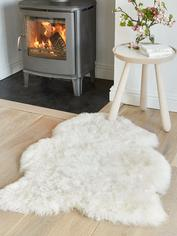 Shorthair Icelandic Sheepskin Rug - Off White