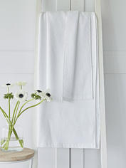 White Waffle Terry Towels