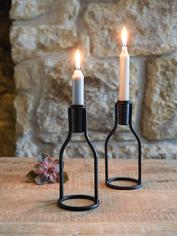 Bottle Candle Holder