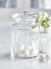 Large Glass Storage Jar