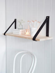 Contemporary Scandi Shelf - Black