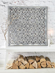Large Carved Wall Panel - Design 2 GL