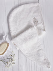 Nordic Spa Hair Turban - Ivory
