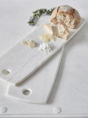 Long Marble Serving Board
