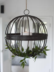 Rustic Cage Candle Hurricane - Extra Large