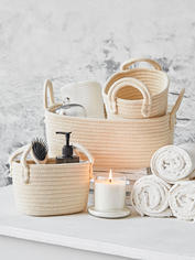 Cotton Basket Set