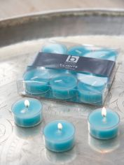 Topaz Clear Cup Tealights