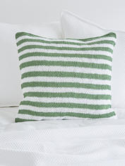 Knitted Green Cushions