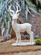 Nordic White Deer - Design 2